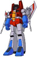 Transformers G1 Starscream Clone