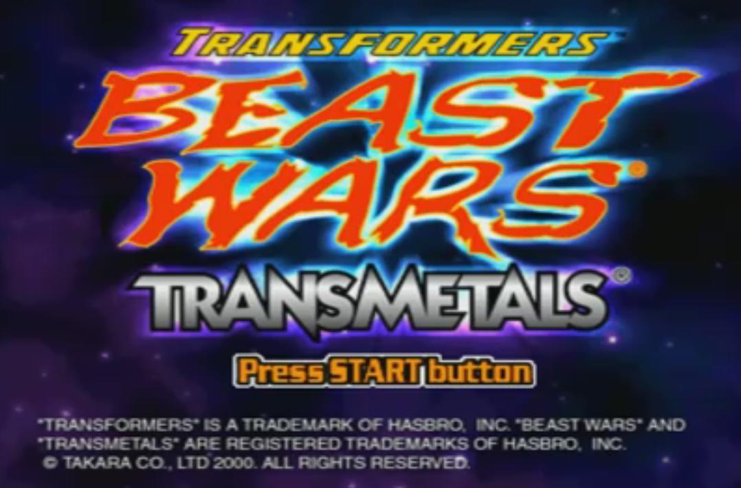 Beast Wars Transmetals (PlayStation)
