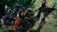 Megatron vermoord Optimus Prime