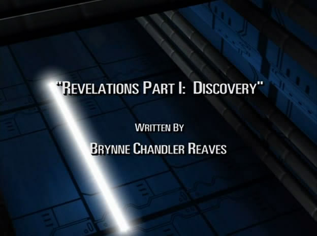 Revelations Part I: Discovery