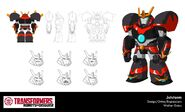 Jetstorm 1 Design Robots in Disguise