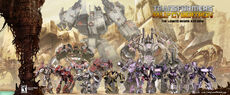 Transformers Fall of Cybertron Awesome Character Roster Poster scaled 4000