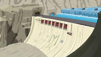 Griffin Rock dam