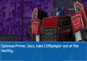 Rise of the Dark Spark 3DS Optimus Getting Rid of Companions.jpg