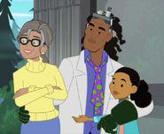 Frankie, Ezra and Anna