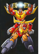 Hot Rodimus and Rodimus Convoy 2010 DVD