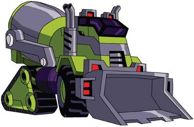 Transformers Animated Mixmaster cement truck.jpg