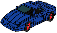 The Headmasters Counterpunch car