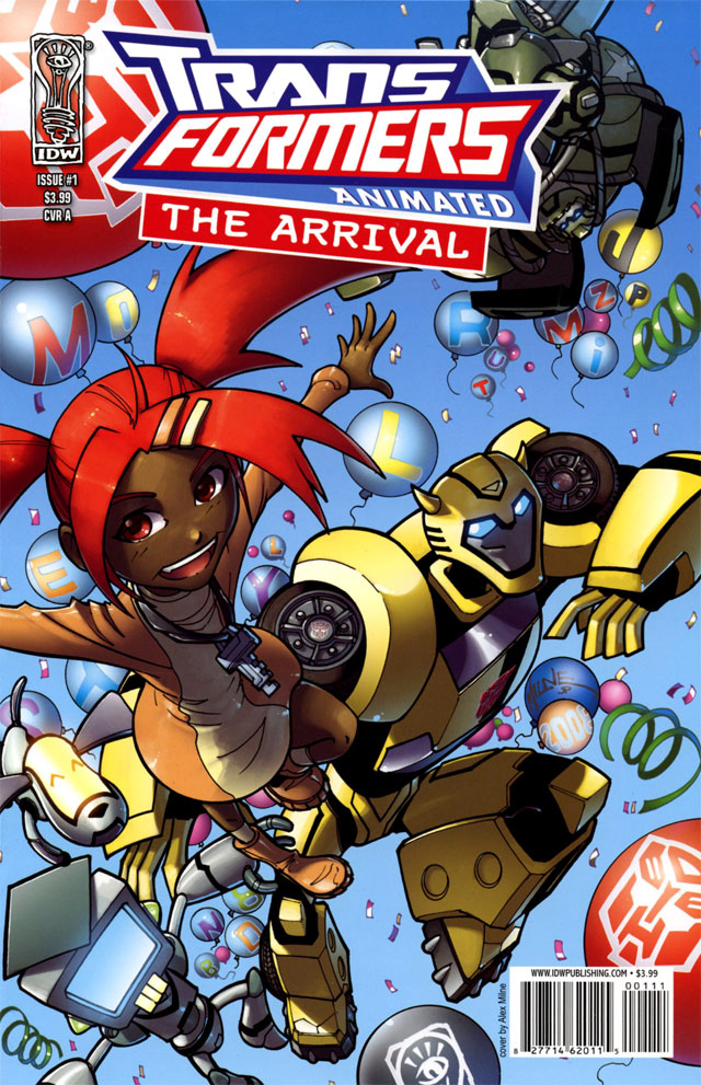 The Arrival issue 1
