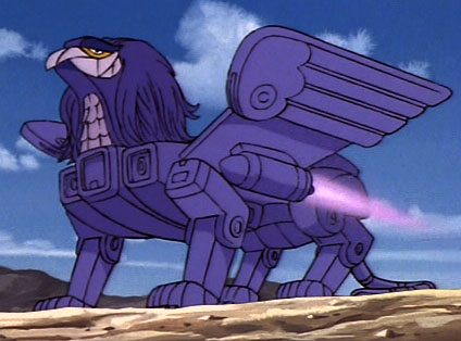 Giant Purple Griffin