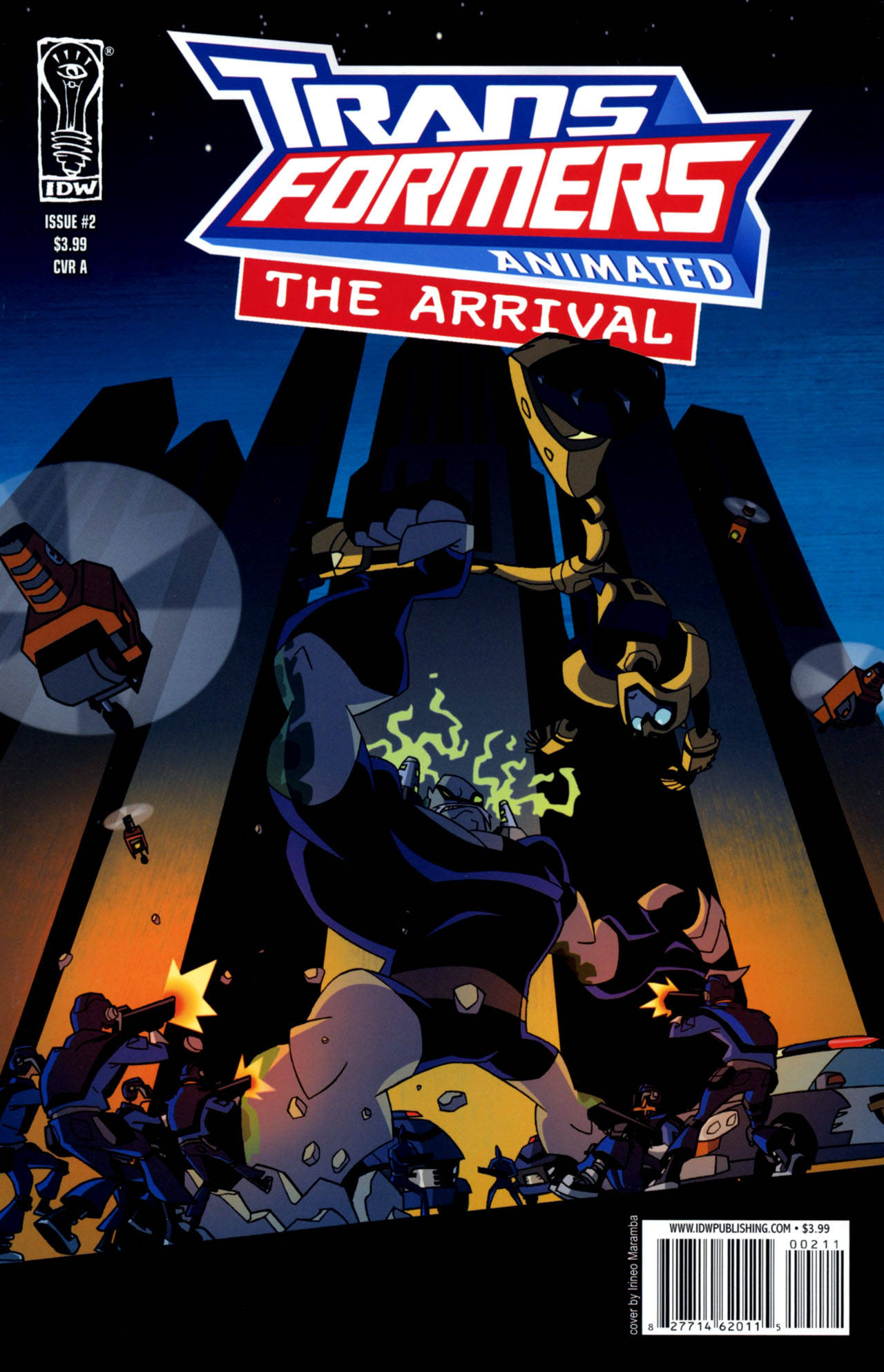 The Arrival issue 2