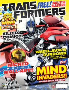 Transformers Comic issue 4.8