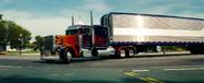 Optimus Prime met truck