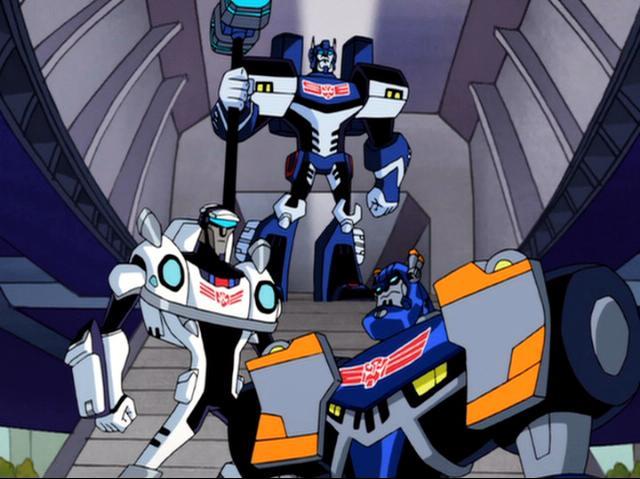 Cybertron Elitegarde (Animated)