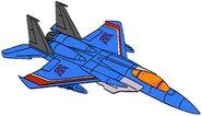 Transformers G1 Thundercracker jet