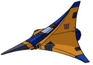 Transformers G1 Dirge tetrajet