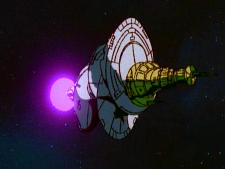 Quintesson spacecraft