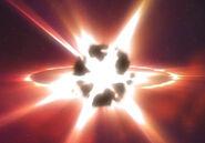 Planet X wird zerstört