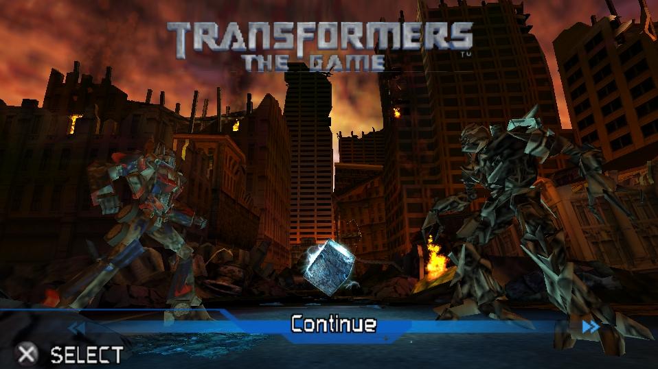 Трансформеры: Игра (PSP)