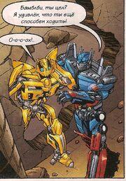 TF 2011-09 Optimus Prime & Bumblebee.jpg