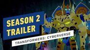Transformers Cyberverse Season 2 Trailer (Cartoon Network)