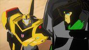 Grimlock and Bee talk