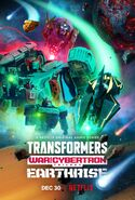 Transformers War For Cybertron Trilogy Earthrise Poster 02
