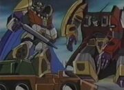 Transformers Zone Abominus and Menasor Fighting Micromaster.jpg