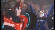 Transformers Robots in Disguise Sideswipe and Strongarm