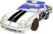 Shuta police car