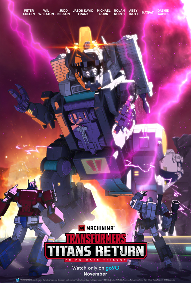 Transformers: Titans Return (Serie)