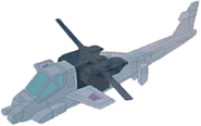Transformers The Headmasters Battletrap helicopter