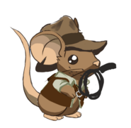 Indiana Mouse croquis