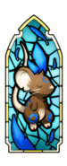 Epiphany 2016 - blue stained glass window