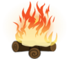 Campfire object