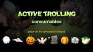 Trolling in Transformice - Consumables