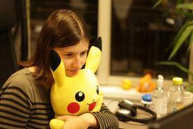 Melibellule avec Pikachu