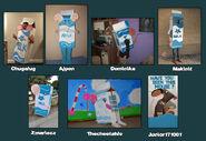 Cosplay 2015 - Briques de lait