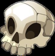 Crâne (balle) render