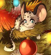Léopard des neiges (Art)