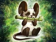 Fourrure de panda - Art