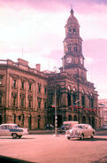 ADELAIDE Town Hall 1959, 118 King William Street , Adelaide