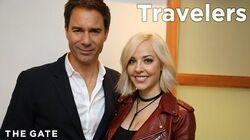 Eric McCormack and MacKenzie Porter on 'Travelers'