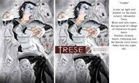 Process of the final variant cover of Trese Unreported Murders Ablaze edition