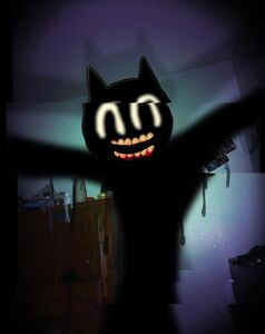 Cartoon Cat Is Evil