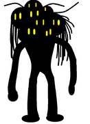 Silhouetted Head