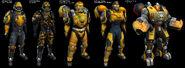 Phoenix Armors from Tribes-Vengeance