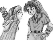 Irina and Dark LInk