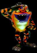 Gekko-Majoras-Mask