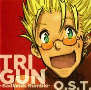 TRIGUN BADLANDS RUMBLE OST COVER